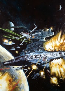 FFG Art Sleeves - X-Wing Assault (50szt)