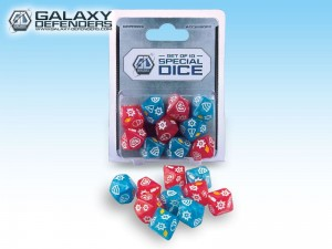 Galaxy Defenders - Special Dice Set