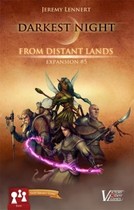 Darkest Night expansion #5: From Distant Lands (Promo Pack)