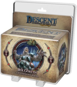 Descent 2nd Edition: Bol'Goreth Lieutenant Pack