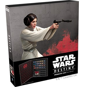 Star Wars Destiny - Princess Leia Dice Binder