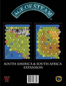 Age of Steam Expansion - South America & South Africa