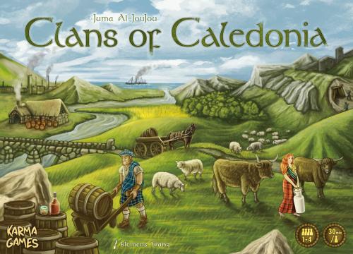 Clans of Caledonia (edycja angielska)