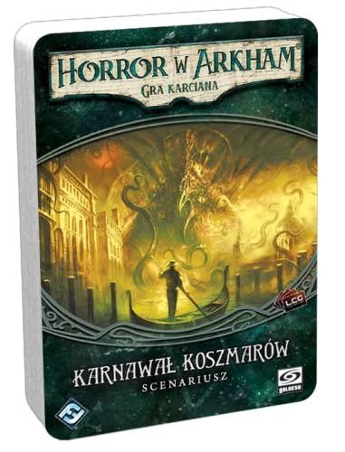 Horror w Arkham: Gra karciana Karnawał koszmarów - Scenariusz
