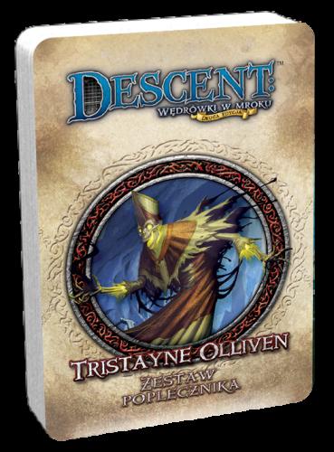 Descent: Wędrówki w Mroku - Tristayne Olliven - talia poplecznika