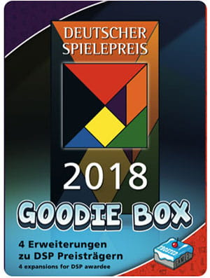 Deutscher Spielepreis 2018 - Goodie Box