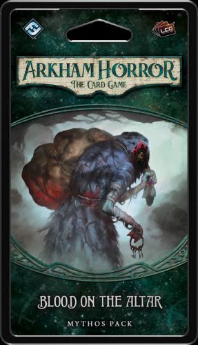 Arkham Horror: The Card Game - Mythos Pack - Blood on the Altar