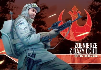 Star Wars: Imperium Atakuje - Żołnierze z Bazy Echo - zestaw sojusznika