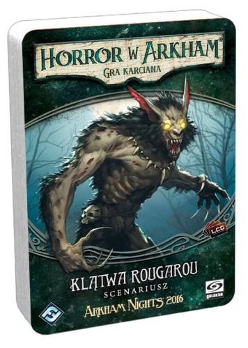 Horror w Arkham: Gra karciana Klątwa Rougarou - Scenariusz