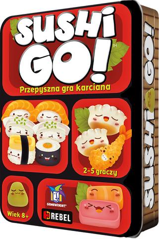Sushi Go! (edycja polska) + promo Sos Sojowy