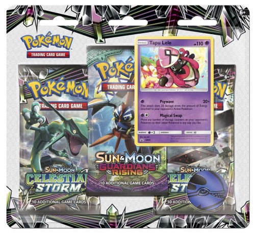 Pokémon TCG: Sun & Moon Series 3 Booster Packs, Coin & Tapu Lele Promo Card