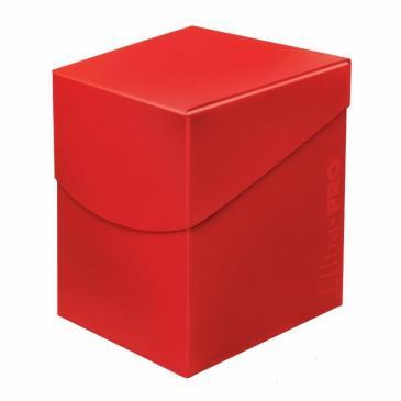 Pudełko na talie (Deck Box) - Eclipse Pro 100+ (Apple Red) (#85686)
