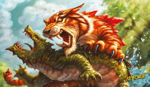 KeyForge Mighty Tiger Playmat