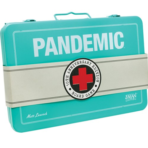 Pandemic 10th Anniversary edition (edycja angielska) + 5 Painted Figures Promo