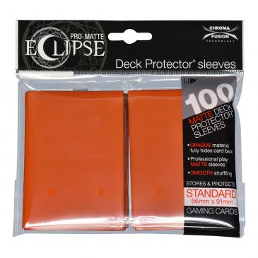 Koszulki Ultra-Pro Pro-Matte Eclipse (Pumpkin Orange) - 100szt.