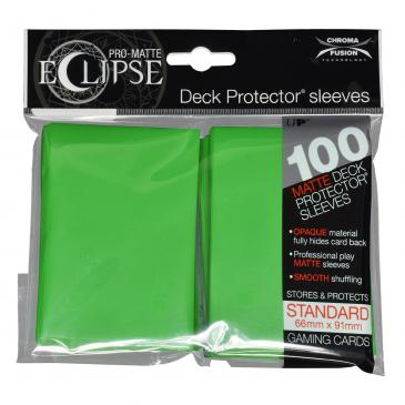 Koszulki Ultra-Pro Pro-Matte Eclipse (Lime Green) - 100szt.