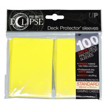 Koszulki Ultra-Pro Pro-Matte Eclipse (Lemon Yellow) - 100szt. (#85608)