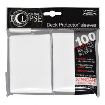 Koszulki Ultra-Pro Pro-Matte Eclipse (Arctic White) - 100szt.