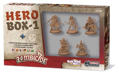 Zombicide: Czarna Plaga Hero Box 1