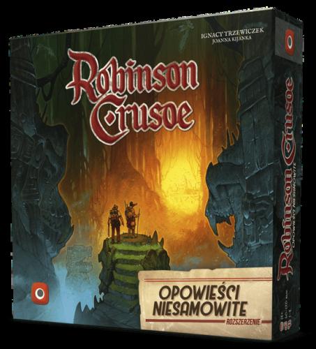 Robinson Crusoe: Opowieści Niesamowite