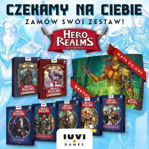 Hero Realms - Zestaw dodatków plus mata