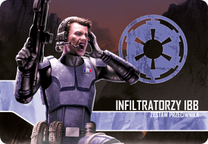 Star Wars: Imperium Atakuje - Infiltratorzy IBB - zestaw przeciwnika