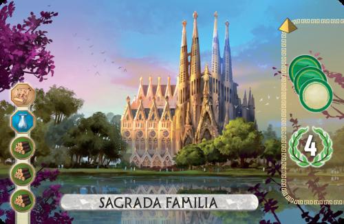 7 Cudów: Pojedynek - Sagrada Familia Promo Card