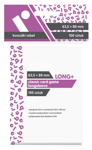 Koszulki Rebel (63,5x88 mm) Classic Card Game Longsleeve - 100 sztuk