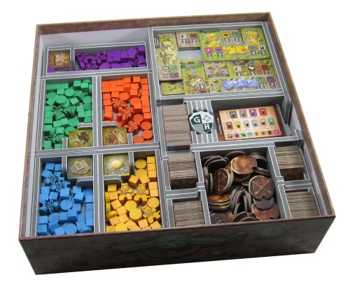 Folded Space - Insert Compatible with Founders of Gloomhaven