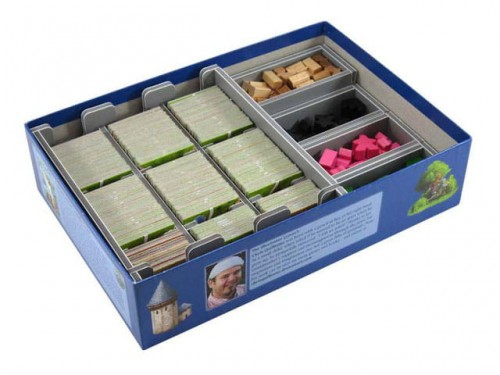Folded Space - Insert Compatible with Carcassonne