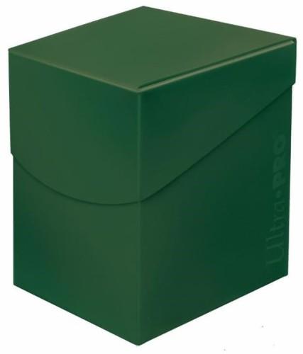 Pudełko na talie (Deck Box) - Eclipse Pro 100+ (Forest Green) (#85687)