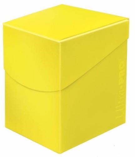 Pudełko na talie (Deck Box) - Eclipse Pro 100+ (Lemon Yellow)