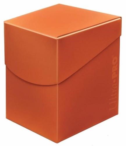 Pudełko na talie (Deck Box) - Eclipse Pro 100+ (Pumpkin Orange)