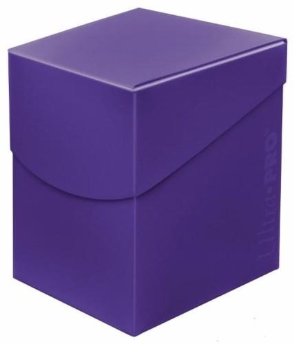 Pudełko na talie (Deck Box) - Eclipse Pro 100+ (Royal Purple) (#85692)