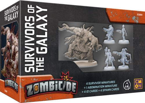 Zombicide: Invader Survivors of the Galaxy