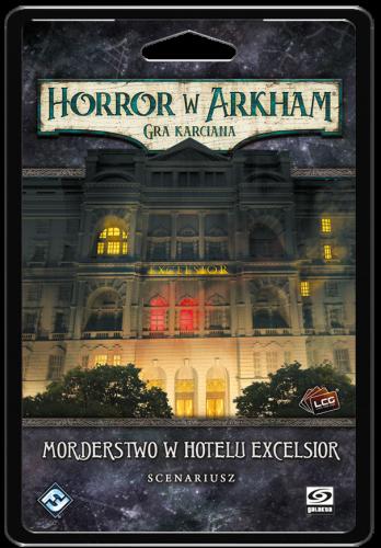 Horror w Arkham: Gra karciana - Morderstwo w Hotelu Excelsior Scenariusz