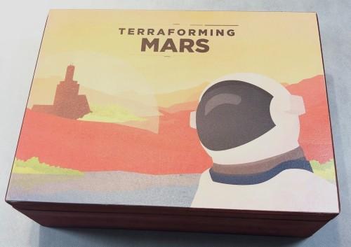 Geekmod - Drewniana skrzynia dedykowana grze Terraformacja Marsa