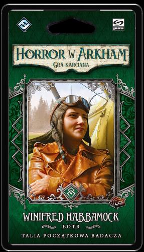 Horror w Arkham: Gra karciana - Winifred Habbamock Talia początkowa badacza