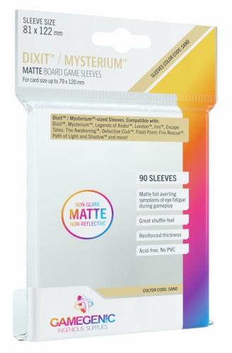 Gamegenic: Matte Dixit Sleeves (81x122mm), 90 sztuk