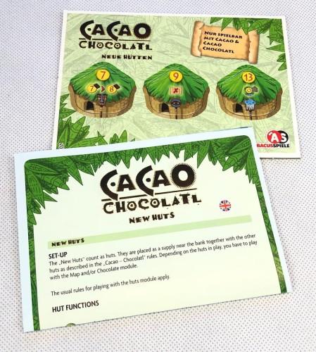 Cacao: Chocolatl New Huts
