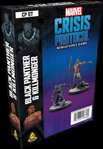 Marvel: Crisis Protocol Black Panther and Kilmonger