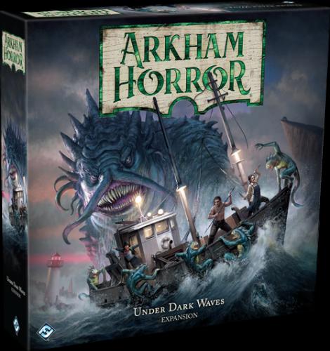 Arkham Horror (Third Edition): Under Dark Waves expansion