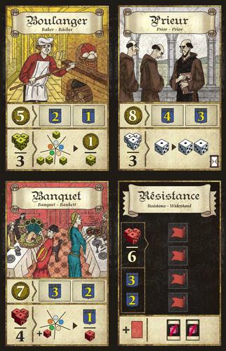 Troyes - karty bonusowe