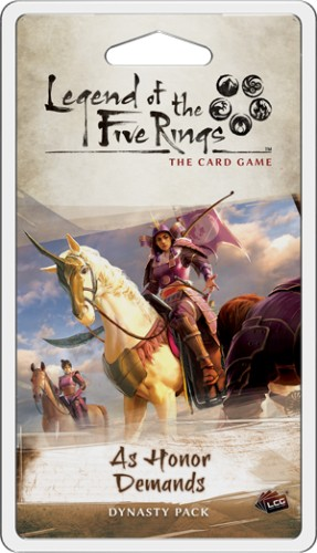 Legend of the Five Rings: The Card Game Dominion Cycle - As Honor Demands