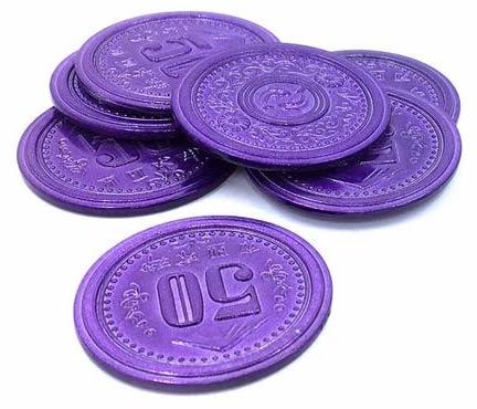 Scythe -7 metalowych monet 50$ (Promo #9)