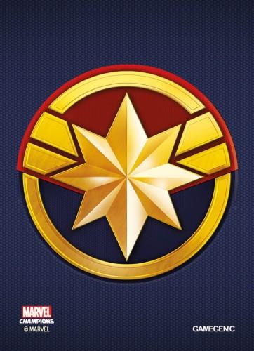 Gamegenic: MARVEL Art Sleeves (66 mm x 91 mm) Captain Marvel 50+1 szt.