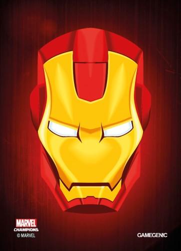 Gamegenic: MARVEL Art Sleeves (66 mm x 91 mm) Iron Man 50+1 szt.