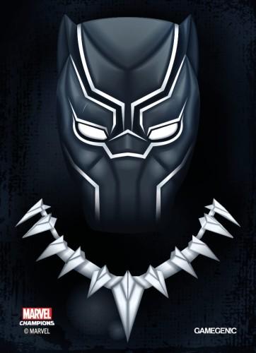 Gamegenic: MARVEL Art Sleeves (66 mm x 91 mm) Black Panther 50+1 szt.