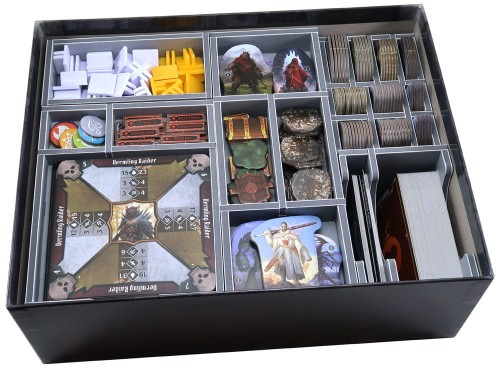 Folded Space - Insert Compatible with Gloomhaven: Jaws of the Lion