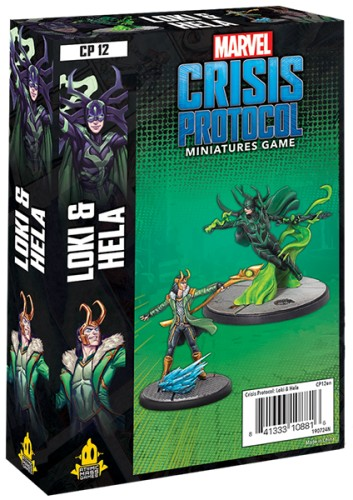 Marvel: Crisis Protocol Loki and Hela